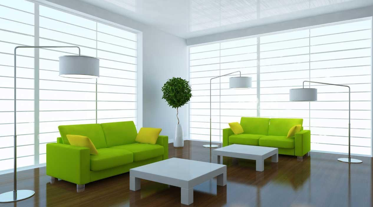 Římské rolety do obývacího pokoje
